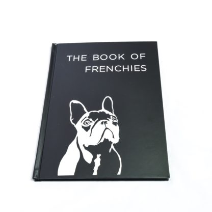 French Bulldog Coffee Table Book - White 2