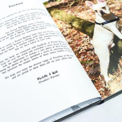 French Bulldog Coffee Table Book - White 6