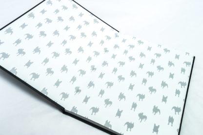 French Bulldog Coffee Table Book - white