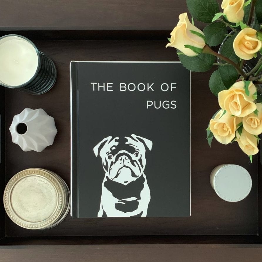 Pug Coffee Table Book - Action 1