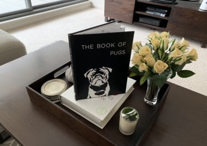 Pug Coffee Table Book - Action 3