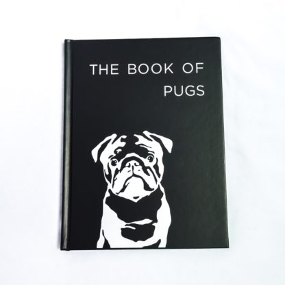 Pug Coffee Table Book - White 1