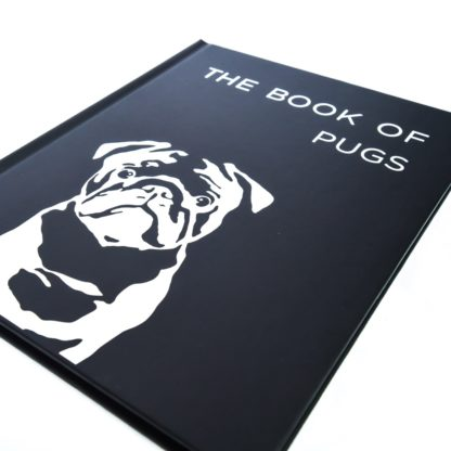 Pug Coffee Table Book - White 2