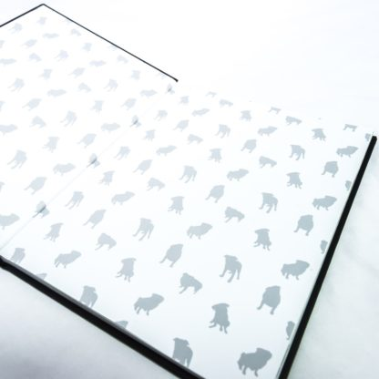 Pug Coffee Table Book - White 3