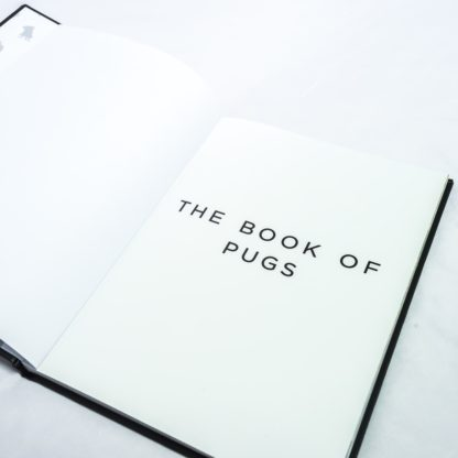 Pug Coffee Table Book - White 5