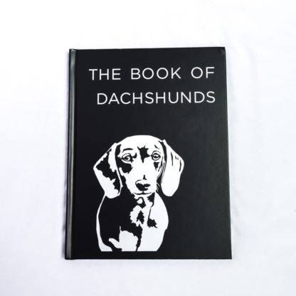 Dachshund coffee table book - white 2