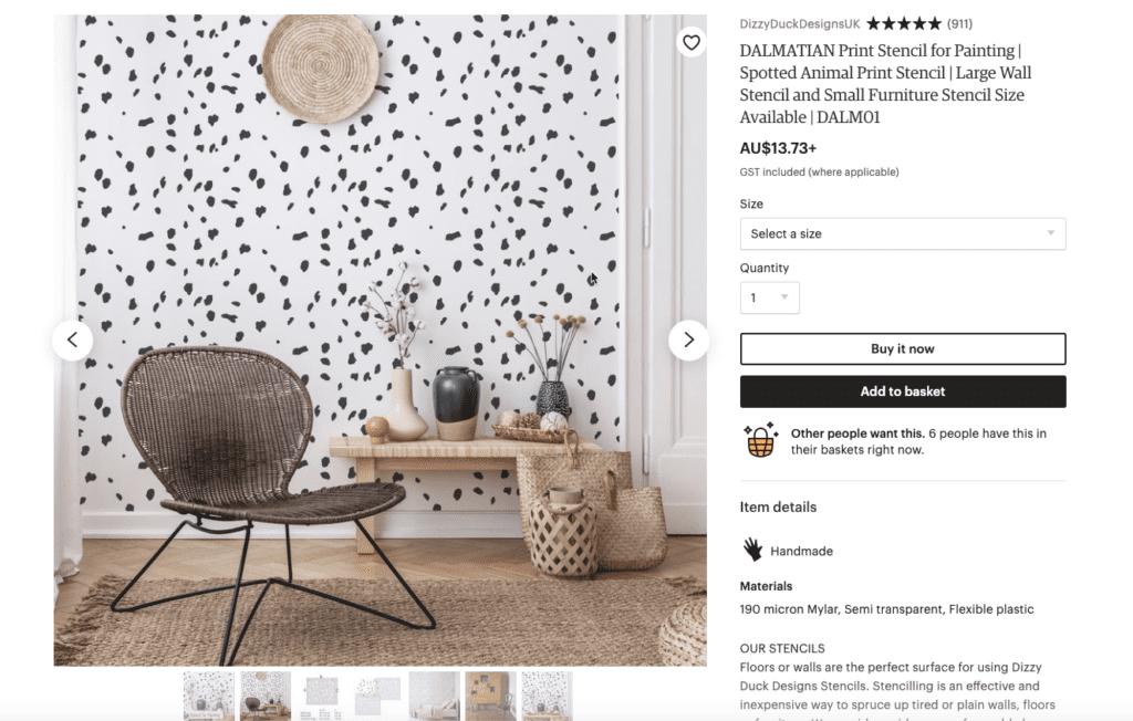 Dalmatian-spots-dog-decor