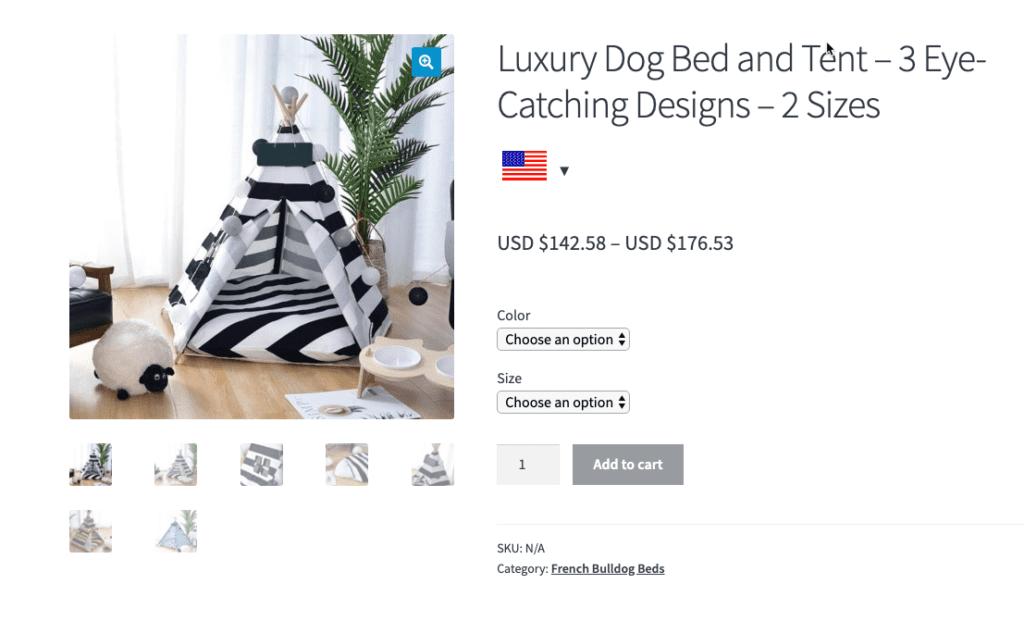 Luxury-dog-bed-dog-decor