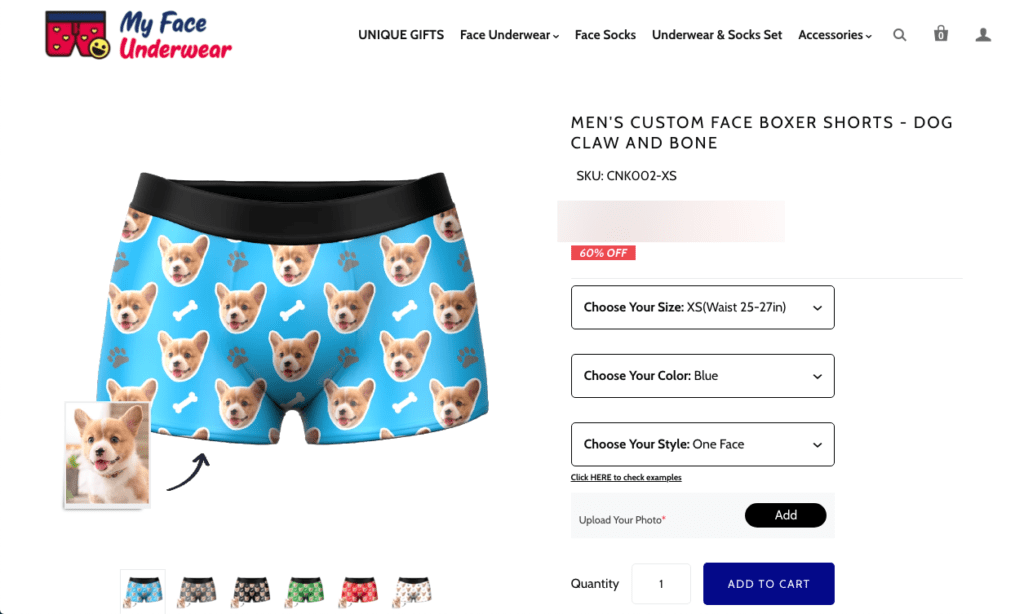 Dog gifts for him - boxers