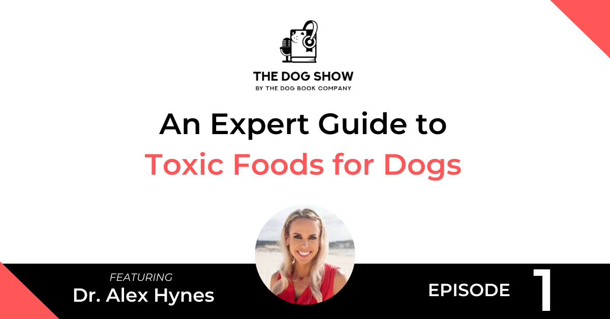 Dog Show - Dr Alex Hynes - Toxic Foods for Dogs - Website