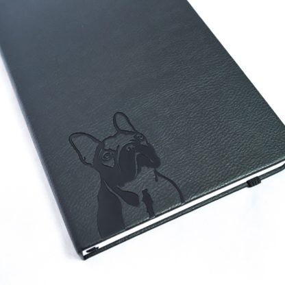 French Bulldog Notebook - White 2