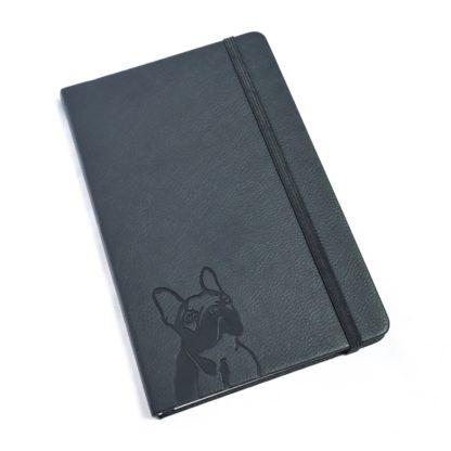 French Bulldog Notebook - White 3