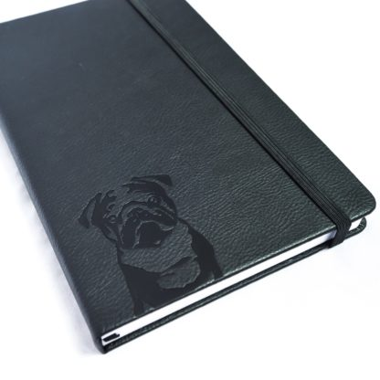Pug Notebook - White 2