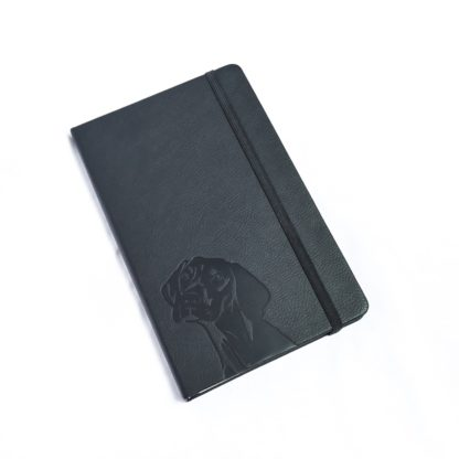 Vizsla Notebook - White 3
