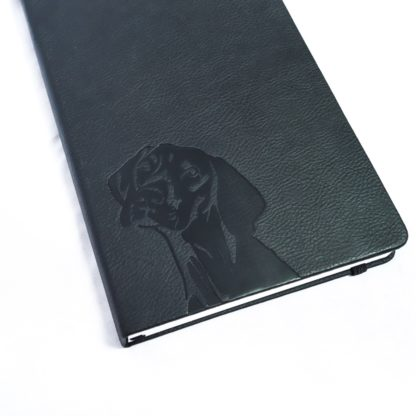 Vizsla Notebook - White 8