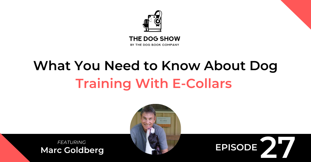 What You Need to Know About Dog Training With E-Collars Featuring Marc Goldberg - Website_Facebook