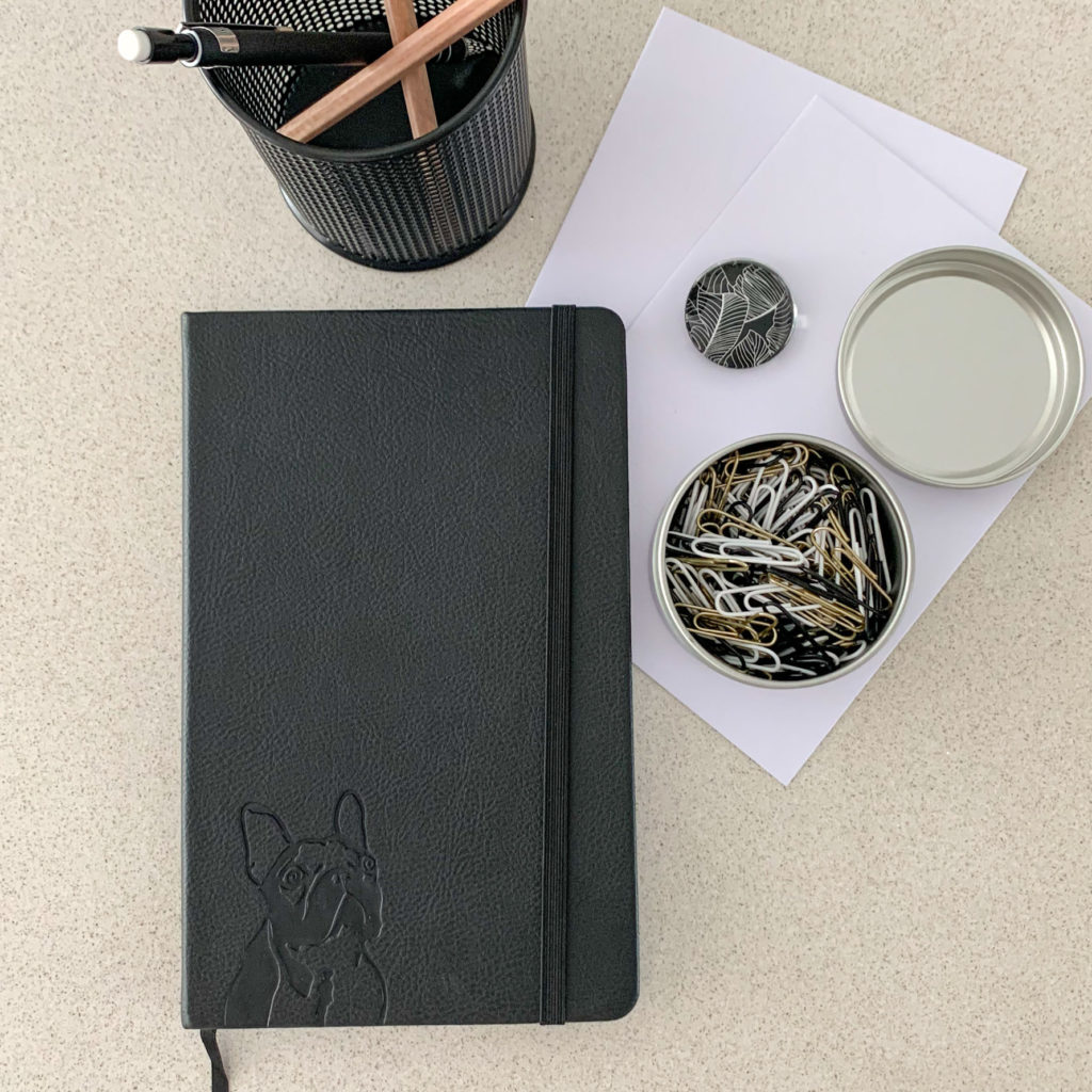 Frenchie Notebook - Lifestyle 10