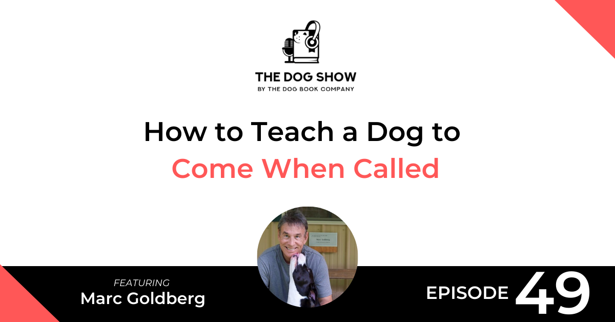 How to Teach a Dog to Come When Called Ft. Marc Goldberg (Episode 49) - Website_Facebook