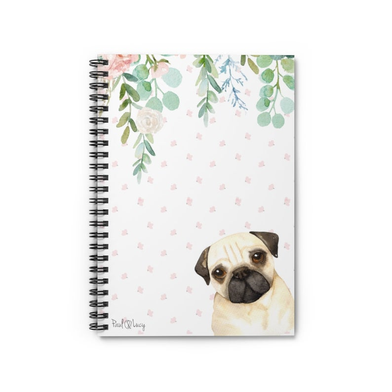 Pug-Notebook-Gift-Dog-Lovers-Gift-Dog-Mom-Gift-Pet-Sympathy-Gift