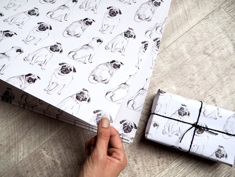 Pug-Wrapping-Paper