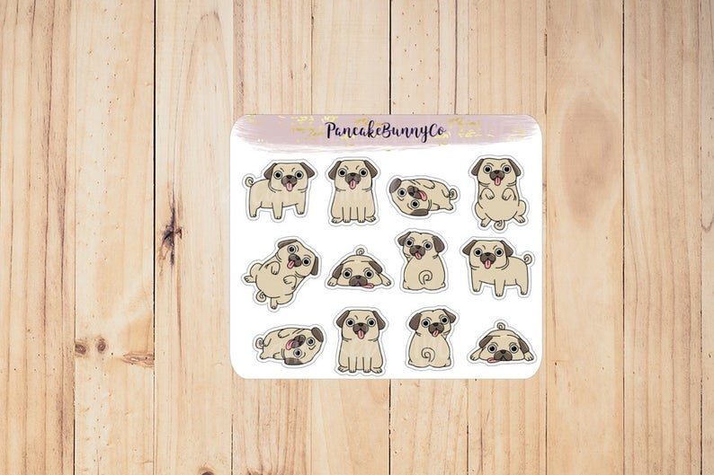 Pug-planner-stickers