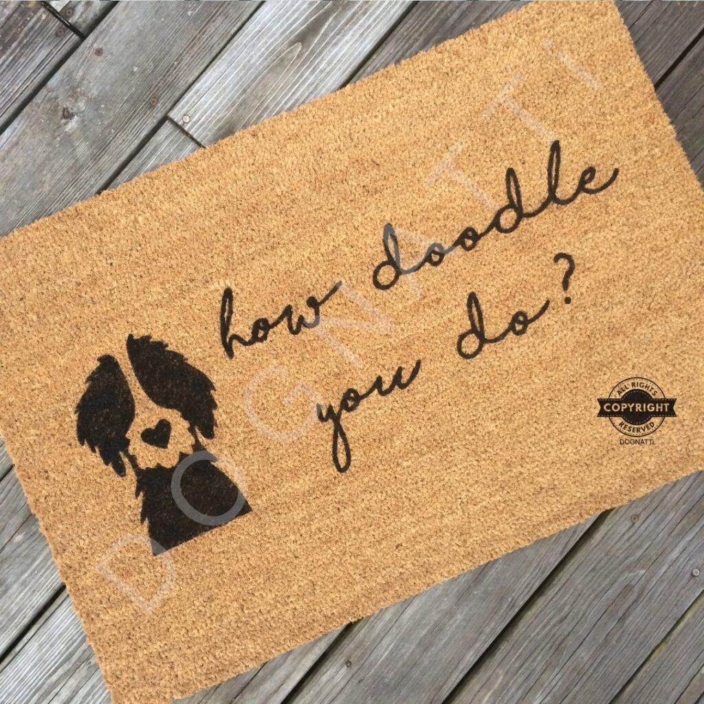 HOW-DOODLE-You-DO-solid-doodle-Door Mat