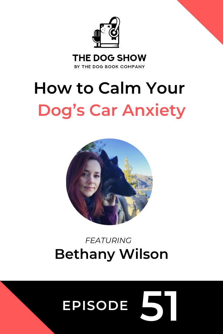 How to Calm Your Dog's Car Anxiety with Bethany Wilson (Episode 51)