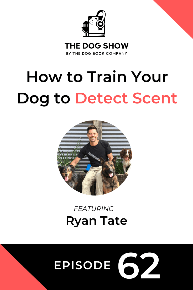 How to Train Your Dog to Detect Scent Ft. Ryan Tate (Episode 62)